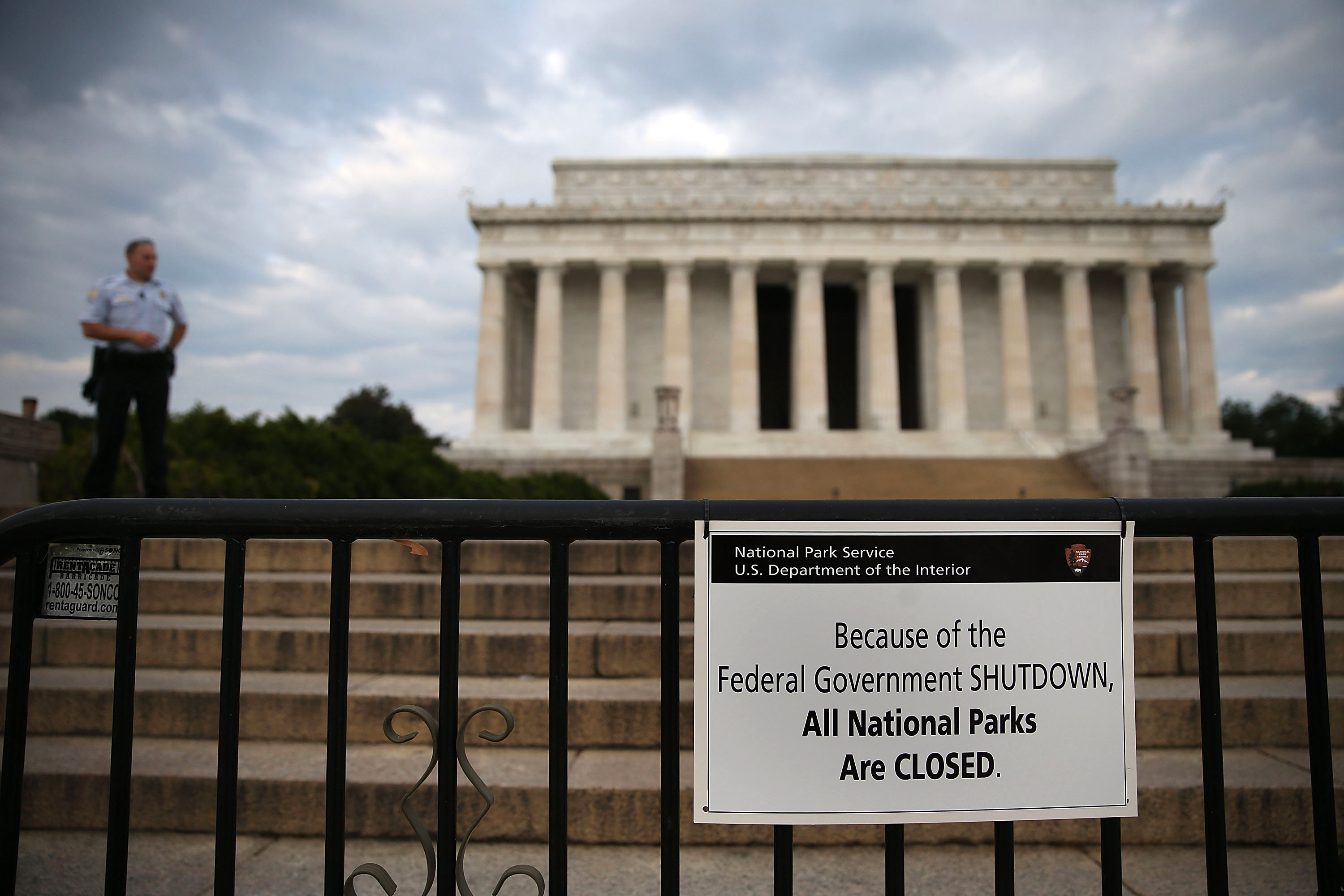 Government Shutdown Forces Closures In Nation's  Capitol