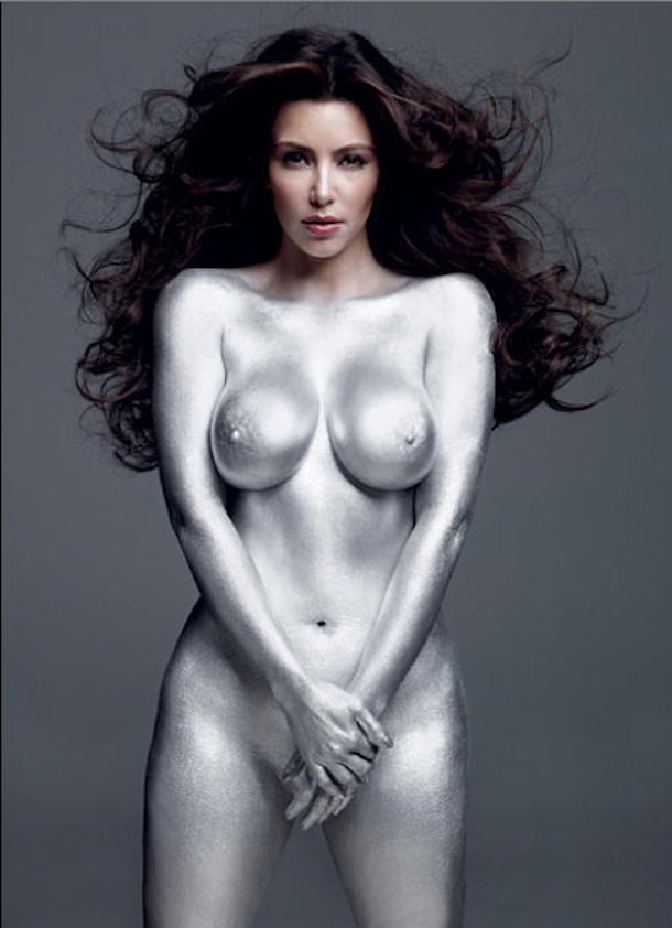 Kim Kardashian W Magazine