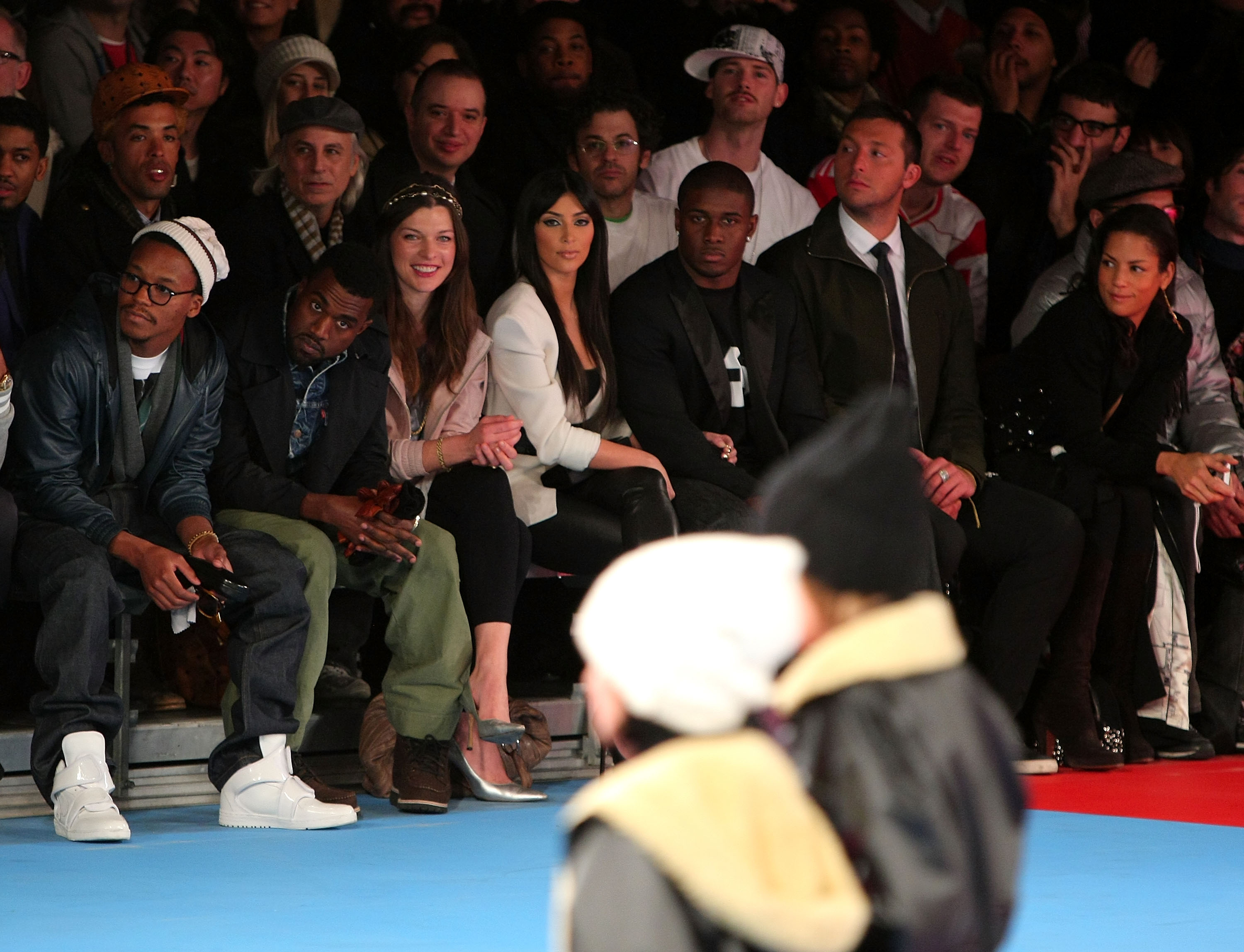 Y-3 Autumn/Winter 2009-10 Show MBFW � Front Row