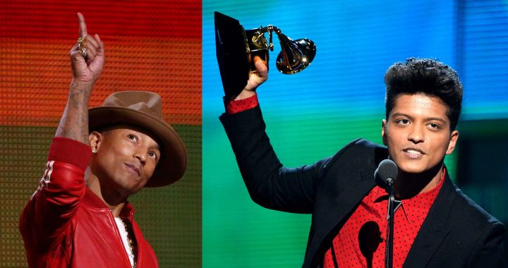 Pharrell and Bruno Mars