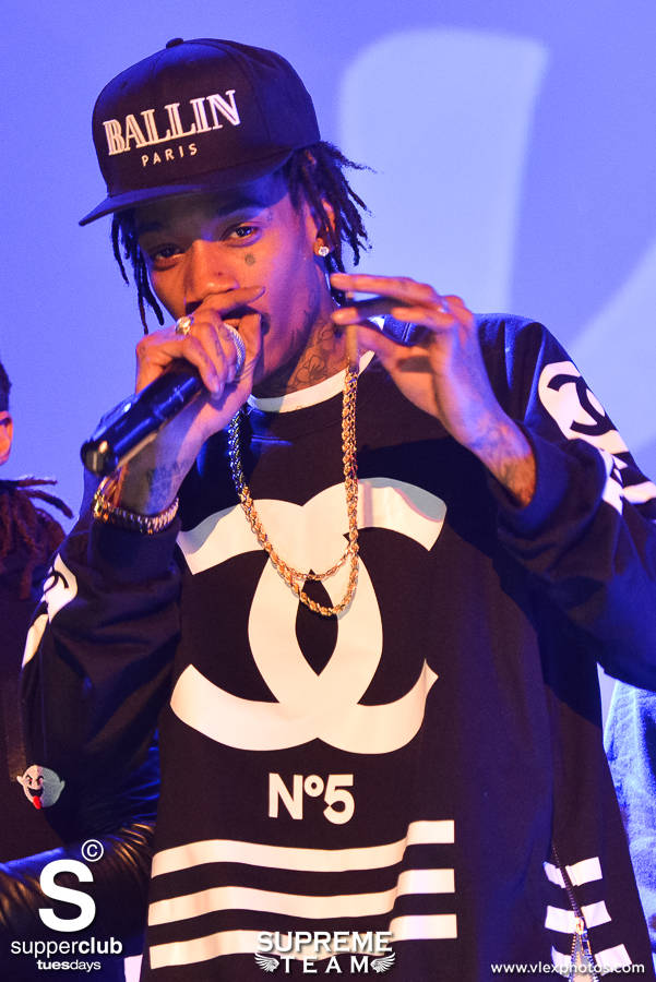 Wiz rocks the crowd at Supperclub Hollywood.