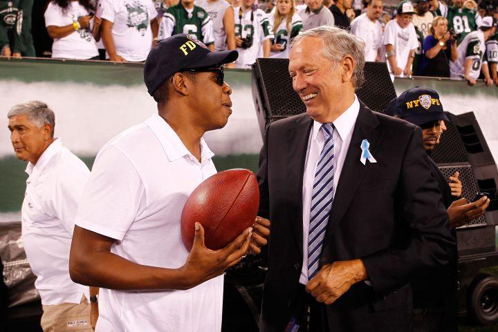 Jay Z at Dallas Cowboys vs. New York Jets.