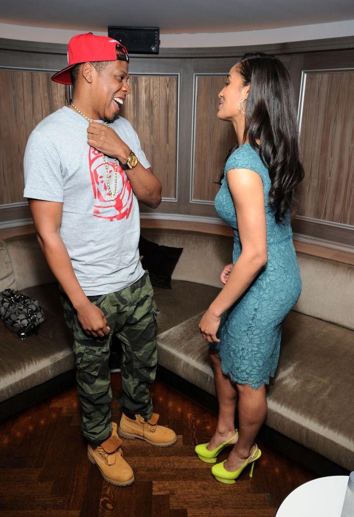 Jay Z and Skylar Diggins