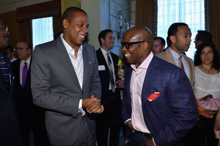 Jay Z and L.A. Reid