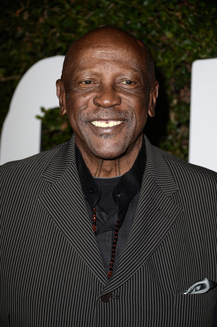 "Lou Gosset Jr. won Best Supporting Actor in the film ""An Officer & A Gentleman."""