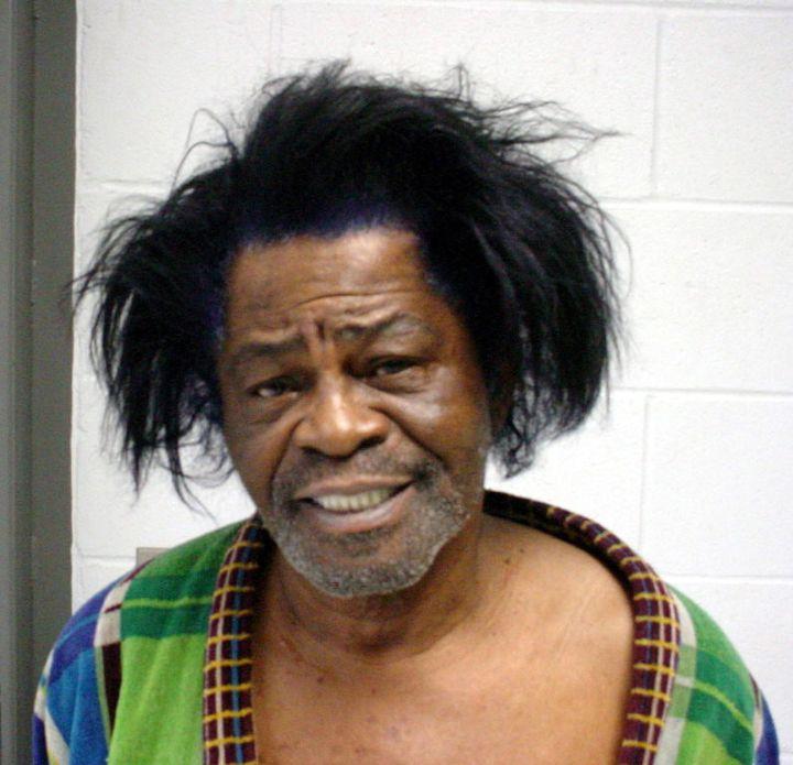 James Brown was arrested for Criminal Domestic Violence in 2004.