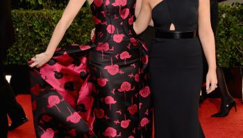 Tina Fey Amy Poehler 2014 71st golden globe awards red carpet