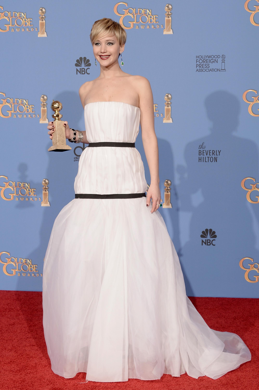 Jennifer Lawrence 71st Annual Golden Globe Awards