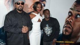 "ice Cube, Tika Sumpter and Kevin Hart ""Ride Along"" New York Screening"