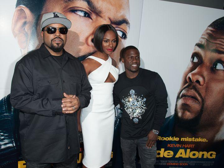 Ice Cube, Tika Sumpter, Kevin Hart
