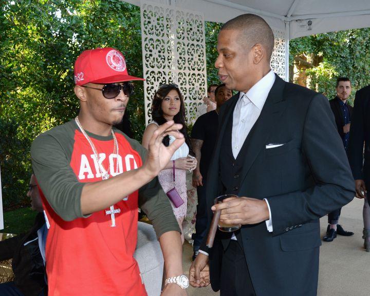 T.I. and Jay Z