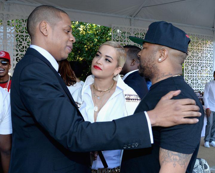 Jay Z, Rita Ora, and The-Dream