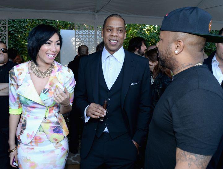 Bridget Kelly, Jay Z, and The-Dream
