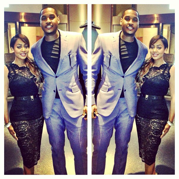 Sexy Couple: LaLa & Melo clean up nice!