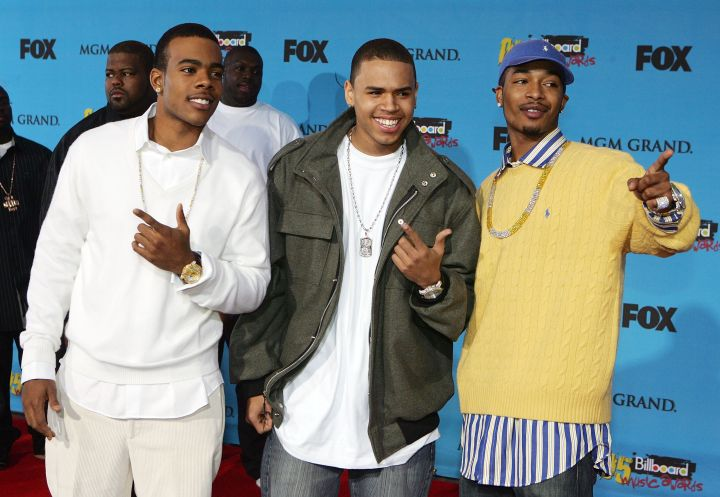 Throwback clique. Chris Brown, Chingy, and Mario were all superstars in '05.
