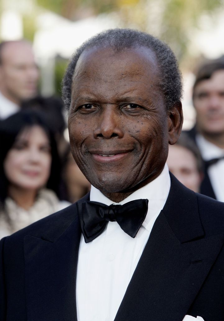 "Sidney Poitier became the first American American to win a Golden Globe. He won Best Actor for his role in ""Lillies Of The Field."""