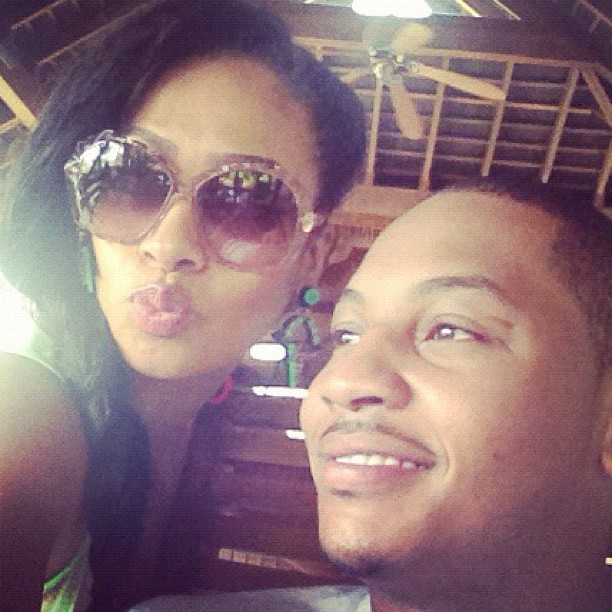 Smooches! LaLa & Melo enjoy Thailand… Just look at that smile.