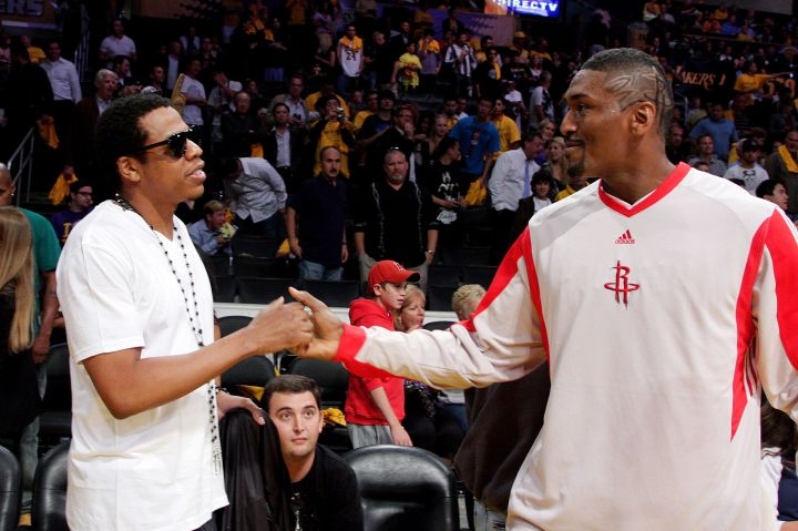 Jay Z and Metta World Peace