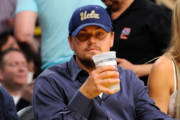 Leo is no stranger to basketball games and beer.