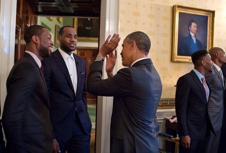 Shoot the J, Mr. President!