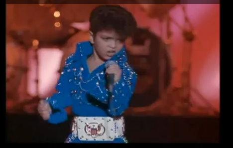 Bruno Mars as Elvis Presley