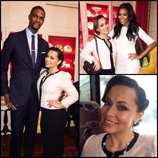 The Boshes are just too cute! Adrienne shares a pic of her hubby and gal pal Gabrielle Union at the White House.