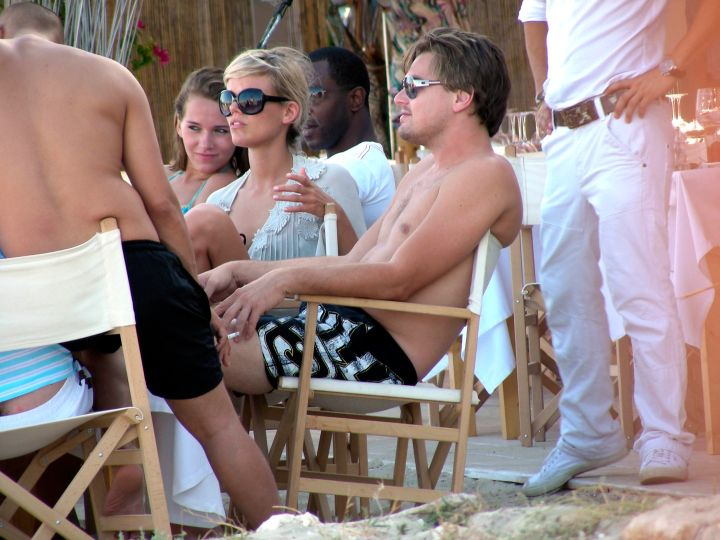 Leo gets his chill on in Ibiza, Spain.