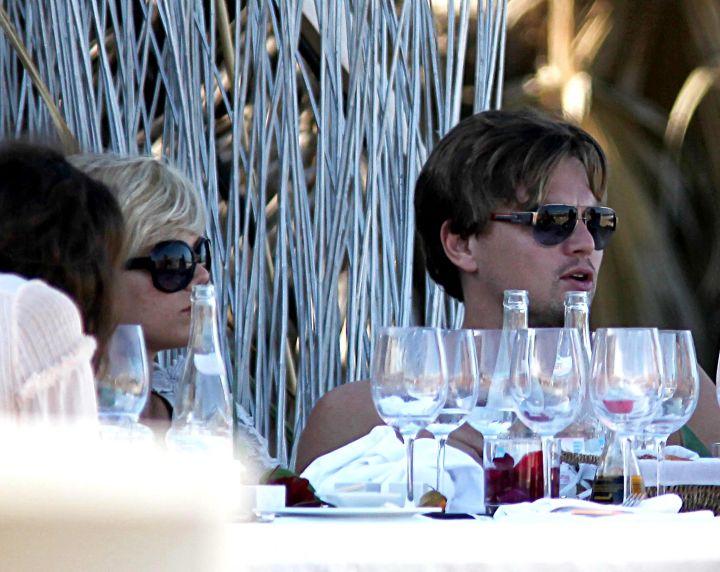 DiCaprio loves fine wine and fine women.