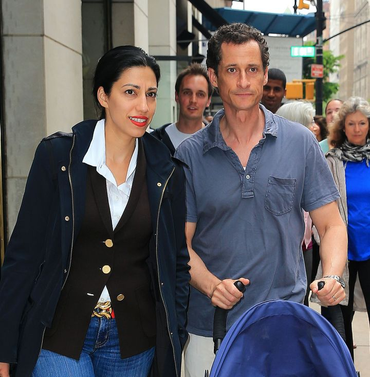 Despite his famous sexting scandal, Huma Abedin has remained loyal to husband and forrmer US represenative Anthony Weiner.