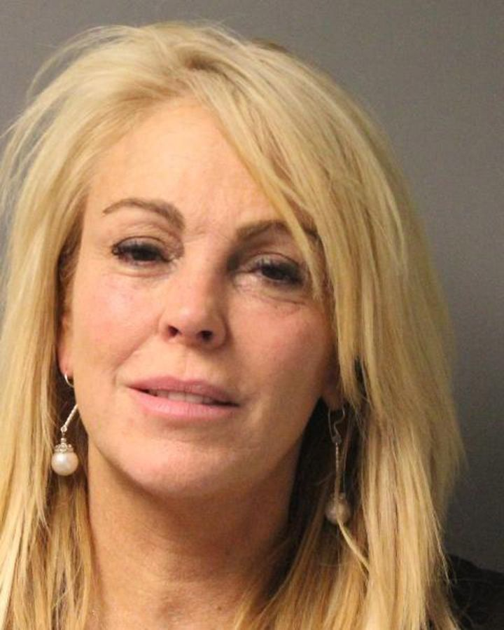 Lindsay Lohan's mother Dina was arrested for alleged drunk driving in 2013.