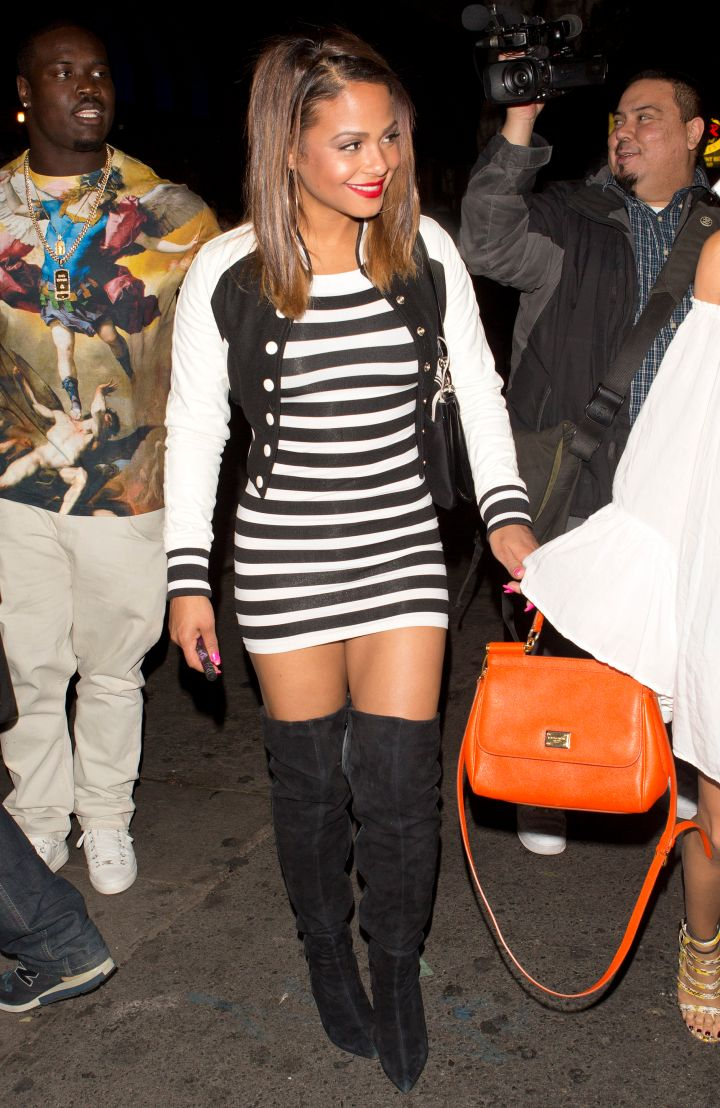 Christina Milian is the newest alleged addition to Weezy's women.