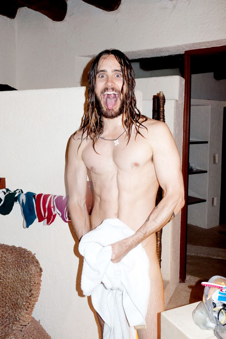 Oh, hello… Jared Leto poses nude for Terry Richardson.