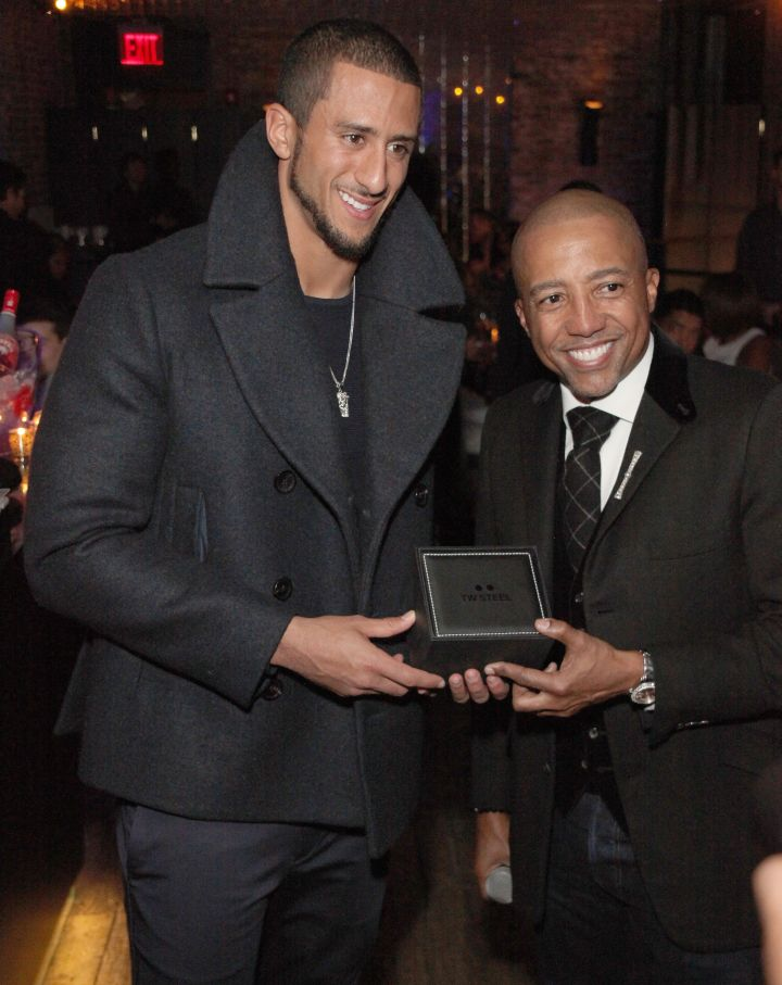 The very handsome Colin Kaepernick was honored at KWL's 4th Annual Sports and Entertainment Celebration… and rightfully so.