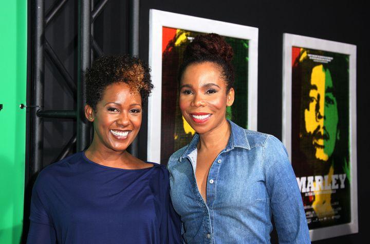 Cedella & Karen Marley