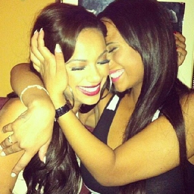 Cyn & Erica are tanned, glowing, and sharing lots of laughs.