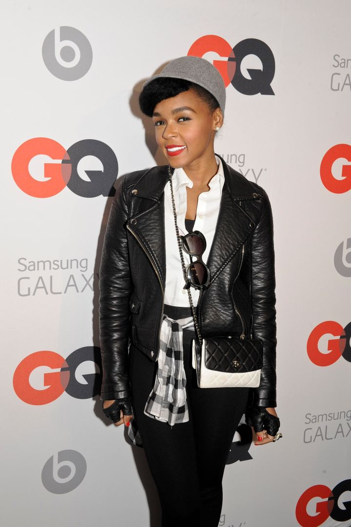 Janelle Monae at the GQ All-Star Party