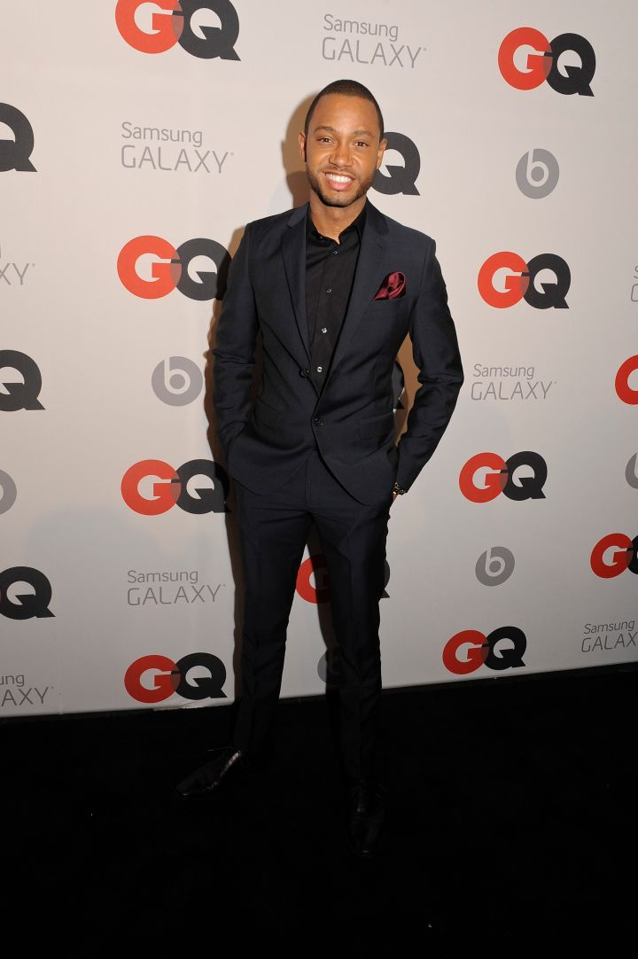 Terrence J at the GQ All-Star Party