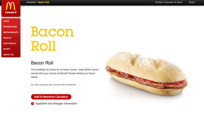 McBacon Roll