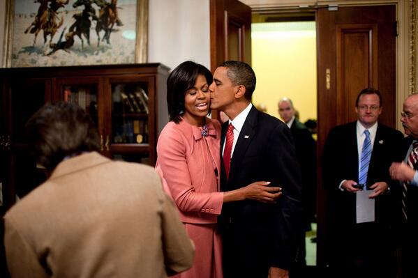 Barack Obama Michelle obama Twitter