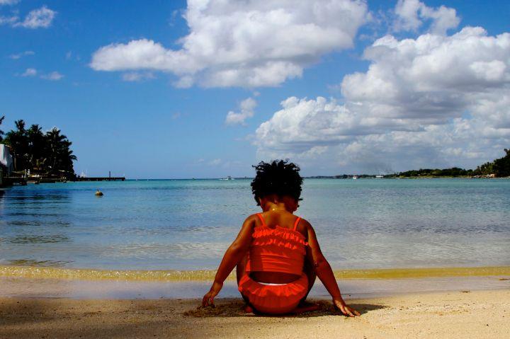 blue ivy carter beach