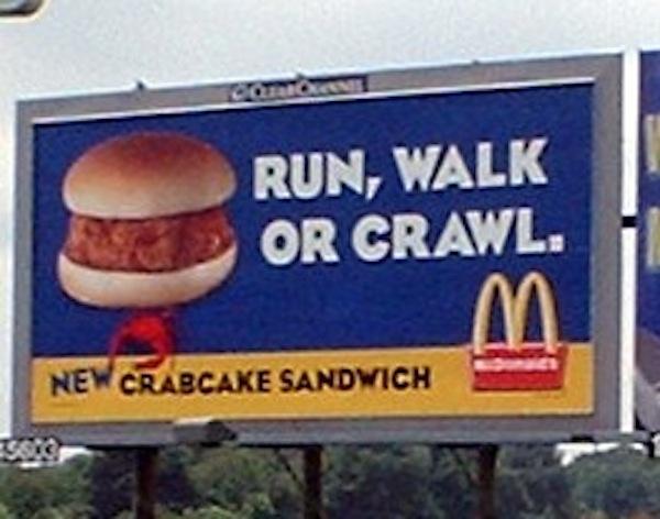 McCrab Cake Sandwich