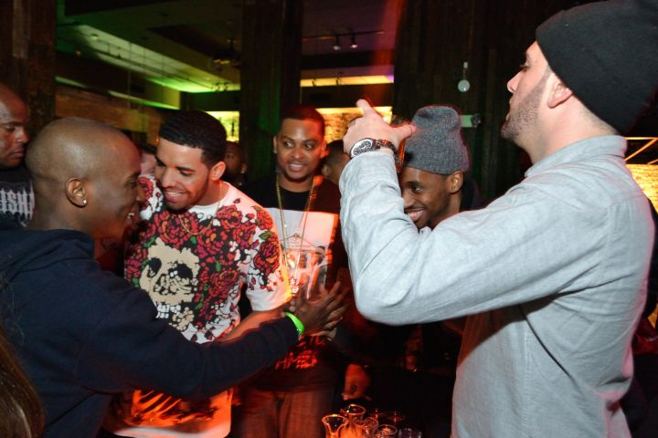 Drake parties it up for All-Star weekend in NOLA