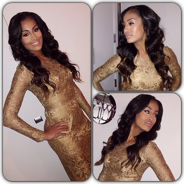 Skylar Diggins is all glimmer and shimmer in gold.