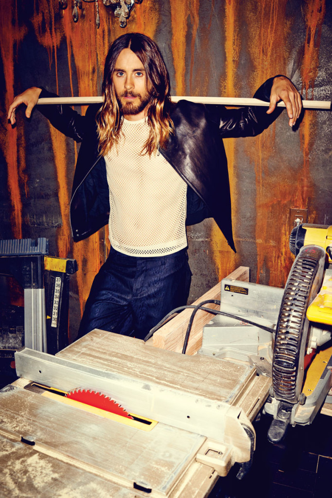 Jared Leto looks smokin' hot in Flaunt Magazine.