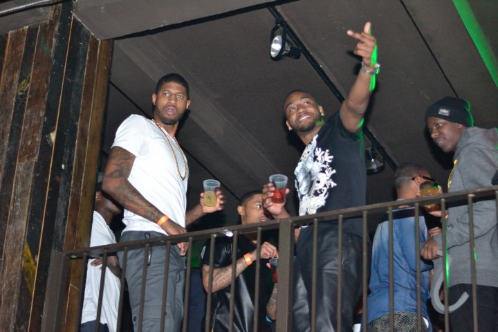 John Wall And Paul George party it up for All-Star weekend in NOLA