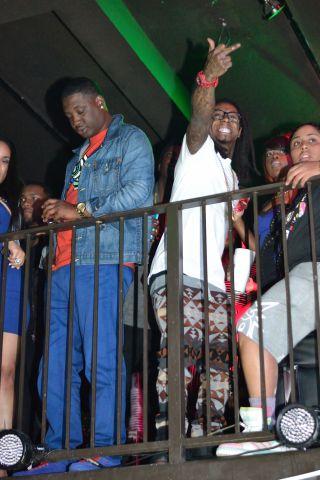 Lil Wayne All-star weekend 2014