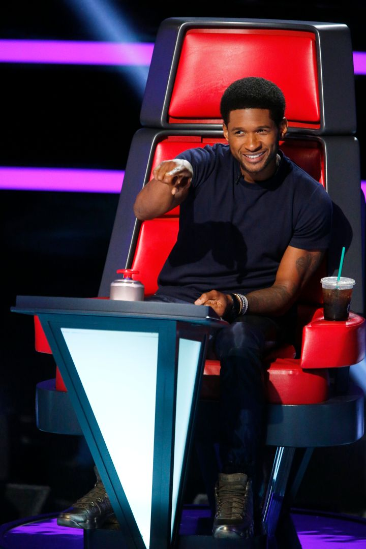 Usher's smile is everything!
