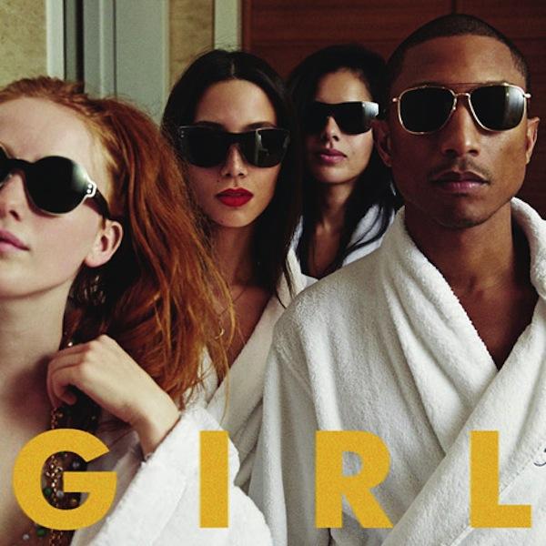 "4. Pharrell ""G I R L"""