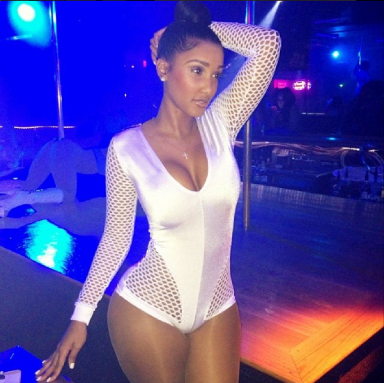 Bernice Burgos isn't even a stripper; she's a bottle girl. But she's so bad we threw her in this anyway.
