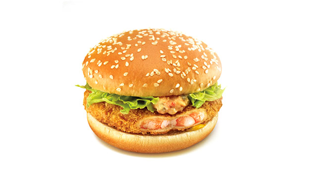 McShrimp Burger